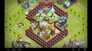 getlinkyoutube.com-Castle Clash Best Defense TH Level 14