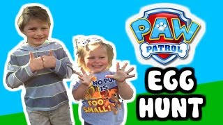 getlinkyoutube.com-PAW PATROL Surprise Egg Hunt for Tsums Tsums and Paw Patrol Toys Hidden in Eggs