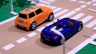 getlinkyoutube.com-Toy Race Cars Videos | Toy Race Cars Crashing | Toy Race Cars | Race of toy - cars.