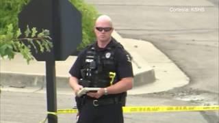 Un hombre fué herido por la policía luego de un altercado con arma blanca en Overland Park