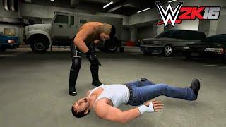getlinkyoutube.com-WWE 2K16 - Backstage Brawl - Seth Rollins vs Dean Ambrose ✦ 【WWE 2K16 - Last Gen - Xbox 360 PS3】