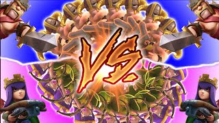 "getlinkyoutube.com-Clash of Clans - ""ARCHERS VS BARBARIANS!"" BATTLE OF THE SEXES! Which One Will Win?"