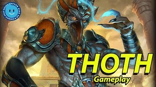 getlinkyoutube.com-SMITE Thoth Gameplay and Build! Buff Needed?