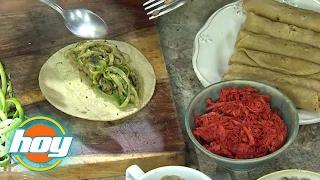 getlinkyoutube.com-Tazón de arroz poblano acompañado de taquitos dorados de calabaza