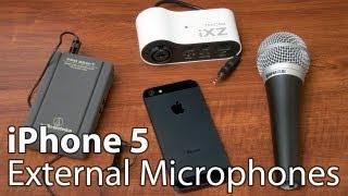 getlinkyoutube.com-iPhone 5 External Microphone Reviews
