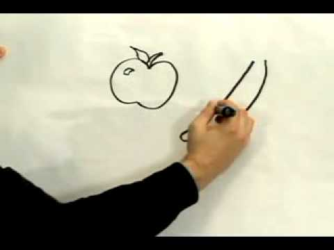 Easy Cartoon Drawing   How to Draw Cartoon Vegetables