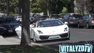 getlinkyoutube.com-Pegando garotas com uma Lamborghini, sem ao menos falar! (Legendado PT-BR)
