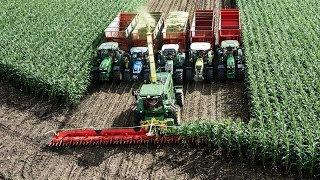 getlinkyoutube.com-El cabezal de cosechadora más grande del mundo !