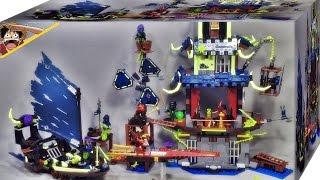getlinkyoutube.com-레고 닌자고 스틱스의 도시 70732 사원 건물 조립 리뷰 Lego Ninjago City of Stiix