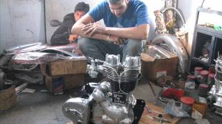 getlinkyoutube.com-royal enfield restore in india