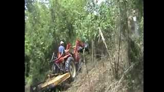 getlinkyoutube.com-Ratchet Rake - Brush land clearing