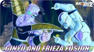 getlinkyoutube.com-Frieza and Ginyu FUSION: Ginyuza VS Goku SSJ God - Dragon Ball Fusions Xenoverse 2