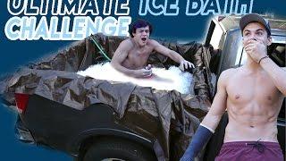 getlinkyoutube.com-CRAZY ICE BATH CHALLENGE!!
