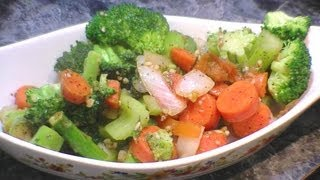 getlinkyoutube.com-Garden Fresh Vegetarian Stir fry  W/ Broccoli , Asparagus & Tomatos