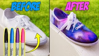 getlinkyoutube.com-DIY Clothes Using SCHOOL SUPPLIES!! DIY Ideas for BACK TO SCHOOL!