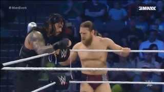 getlinkyoutube.com-SmackDown - Daniel Bryan, Roman Reigns & Dolph Ziggler vs. Bad News Barret, Big Show & Sheamus