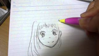 getlinkyoutube.com-女の子描いてみた【ツインテール】