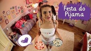 getlinkyoutube.com-Festa do pijama com Amanda, Livia e Juliê ❤ Mundo da Menina
