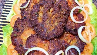 Peshawari Chapli Kabab Eid ul Adha Special Recipe  پشاوری چپلی کباب