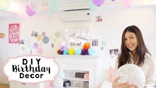 getlinkyoutube.com-5 DIY Birthday Decor Ideas