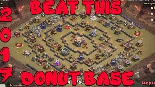 getlinkyoutube.com-Clash Of Clans - How To Beat This Donut Youtube Base EASY Th11 + Th10- 3 Stars
