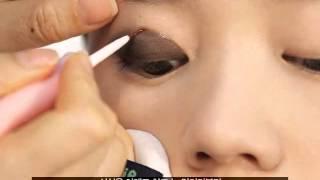getlinkyoutube.com-[How to] เทคนิคทำตาสองชั้นแบบเกาหลี