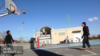 getlinkyoutube.com-たまには昼からバスケしてみた!