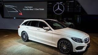 getlinkyoutube.com-Weltpremiere 2014 Mercedes-Benz C-Klasse T-Modell (S205) - Kombi - Vorstellung in Bremen