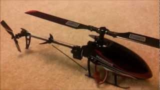 WALKERA V120D02s 3D HELI INDOORS - DEVO 8 WITH TELEMETRY MODULE