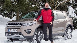 getlinkyoutube.com-Land Rover Discovery Sport 2015 Test - Fahrbericht
