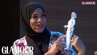 Olympian Ibtihaj Muhammad Is the First Hijab-Wearing Barbie | Glamour width=