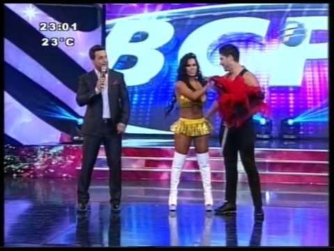 Gaby del Campo y Jorge Samaniego. Baile Cumbia. BCPY2013