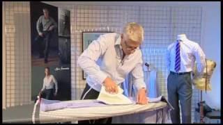 getlinkyoutube.com-T.M.Lewin | How To Iron A Shirt