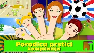 getlinkyoutube.com-Porodica Prstići - kompilacija   Finger Family   Dečije pesme   Jaccoled