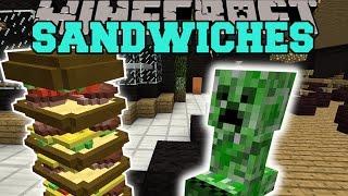 getlinkyoutube.com-Minecraft: MAKE ME A SANDWICH MOD (LARGEST SANDWICH EVER CREATED!) Mod Showcase