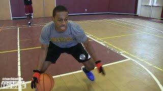 getlinkyoutube.com-Jamir Moultrie (Resilient: Guard Drills) Work Out - Coach Godwin Ep:165