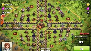 getlinkyoutube.com-Clash of Clans - High Level Champions League Attack Strategy #27HD