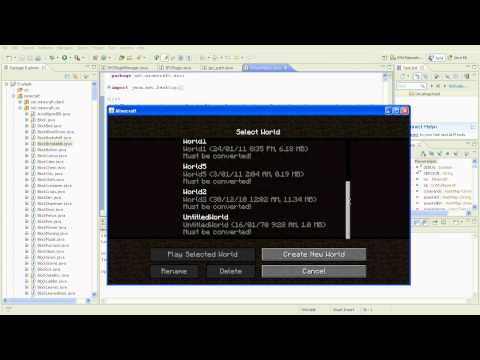 Minecraft Mod Tutorial: Setting up Eclipse (MCP)