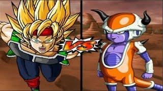 getlinkyoutube.com-Dragon Ball Z Budokai Tenkaichi 3 - Bardock SSJ VS Chilled Red Potara