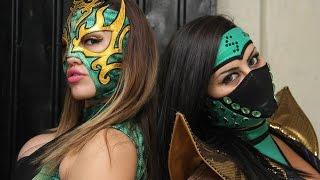 Mary y Faby Apache vs Lady Shani y la Hiedra en la Arena Neza.