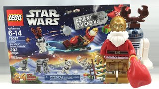 getlinkyoutube.com-LEGO Star Wars 2015 Advent Calendar review! 75097