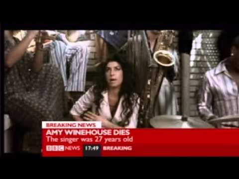 BBC News - Amy Winehouse dies 23/7/2011