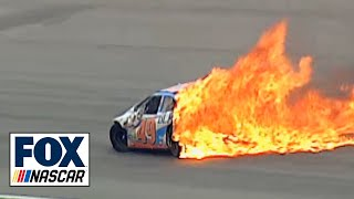 getlinkyoutube.com-Top 5 NASCAR Wrecks at Pocono
