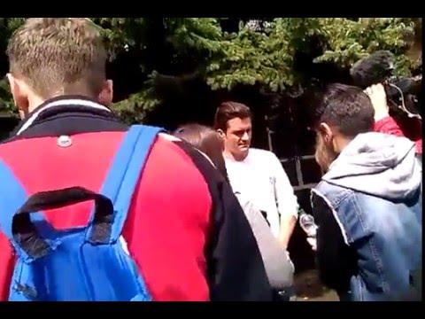 «Пират доброй воли»: Голливудская звезда Орландо Блум побывал в гостях у школьников Славянска. ВИДЕО.