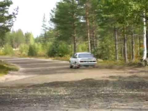 Kajaani Rallisprint 2011, 6 Sari Lääti HamUA Opel Ascona B
