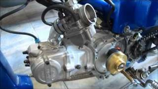 getlinkyoutube.com-HONDA GLX 105cc POLINI 4 VALVE & DRAG PARTS SIFNEOS
