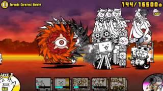 getlinkyoutube.com-[The Battle Cats] Tornado Carnival NO UBERS