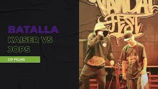getlinkyoutube.com-Jops vs Kaiser (Video Oficial) - Batallas Escritas Vandal Fest