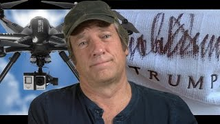 getlinkyoutube.com-Mike Rowe Wears Trump's Robe, Fights a Drone, and Solves the Labor Shortage