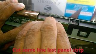 How to repair Lcd tv double image Complaint